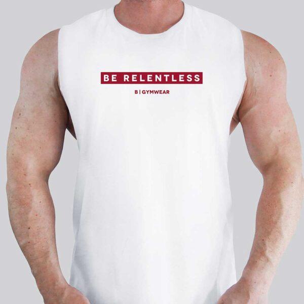 Be-Relentless-Gym-Tank---Red