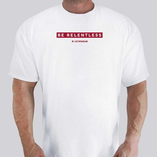 Be-Relentless-Red-Premium-Cotton-Tee